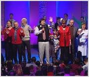 """Новогоднее богослужение в церкви """"Новая Жизнь"""""""