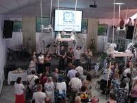 Открытие церкви в Волжском