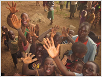 Христиане помогли детям в Африке