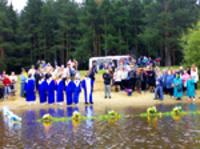 Первое крещение лета 2010 года состоялось в Коми