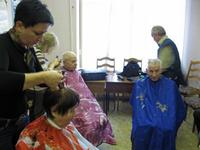 «Парикмахерская» помощь