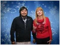 Максим и Лариса Максимовы поздравляют друзей CNL с Рождеством