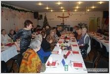Рождественское служение для пожилых в Армии Спасения /фоторепортаж