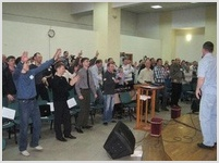 «Дай Богу прикоснуться к тебе!» – мужская конференция на Алтае