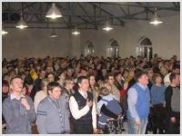 В РЦ ХВЕ Неемия г. Омск прошло первое служение в новом Молитвенном доме | ВИДЕО | ФОТО