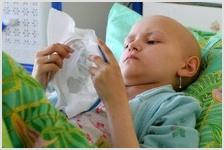 Поддержите больных раком детей