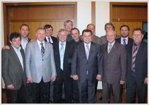 Начальствующий епископ РЦ ХВЕ встретился с лидерами церквей Германии и Швеции