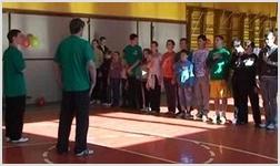 В Центральной церкви Одессы открылся спортивный клуб для подростков