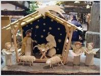 В Волгоград съехались рождественские вертепы со всего мира