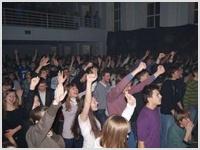 В Житомире христиане провели 24-часовой пост и поклонение