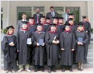 Выпускной в Московской Богословской семинарии ЕХБ