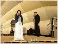 Виктория Белова провела концерт в Ивангороде