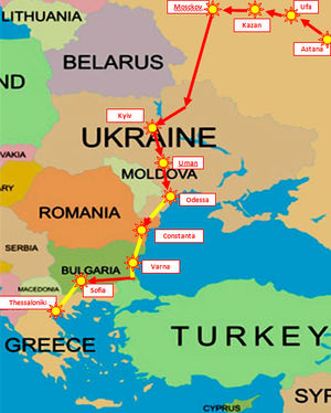Межрелигиозный марш по странам СНГ и Европы