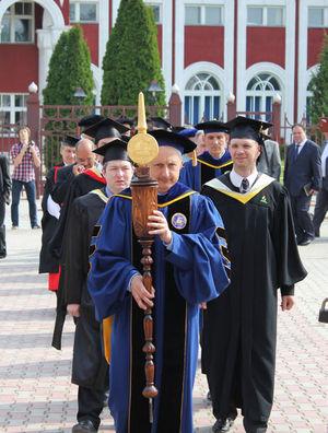 Выпускная церемония 2012 в Заокском