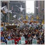 """Религиозные лидеры поддержали """"Климатический марш"""""""