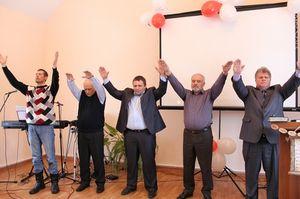 Праздничное открытие Дома Молитвы в Боготоле