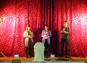 Представители церкви показали воспитанницам колонии спектакль
