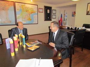 Пастор адветистской общины встретился с мэром Таганрога