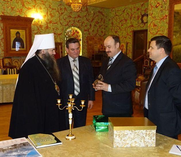 Состоялась встреча ОВЦС РС ЕХБ с митрополитом Нижегородским и Арзамасским
