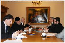 В Санкт-Петербурге прошло заседание рабочей группы «Церкви в Европе»