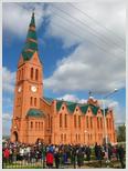 Лютеранская кирха восстановлена на деньги российского мецената