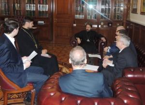 Двухсторонняя встреча  РС ЕХБ и МП РПЦ