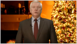 Рождественское поздравление председателя РС ЕХБ