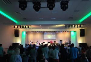 Молодежный межцерковный вечер молитвы и поклонения «Приди»