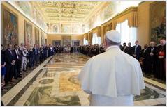 Папа Римский совершил молитву со 100 протестантскими лидерами
