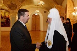 """"""" С патриархом Кириллом у нас хорошие отношения..."""""""