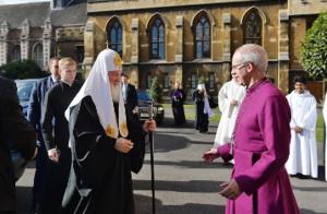 Архиепископ Кентерберийский посетил Россию