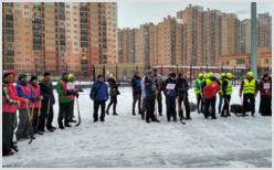 Межрелигиозный турнир по хоккею в валенках