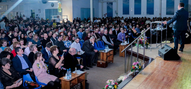 25-ти летие церкви в Ростове-на-Дону