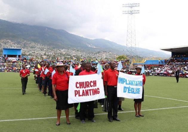 Крещения в Порт-о-Пренсе