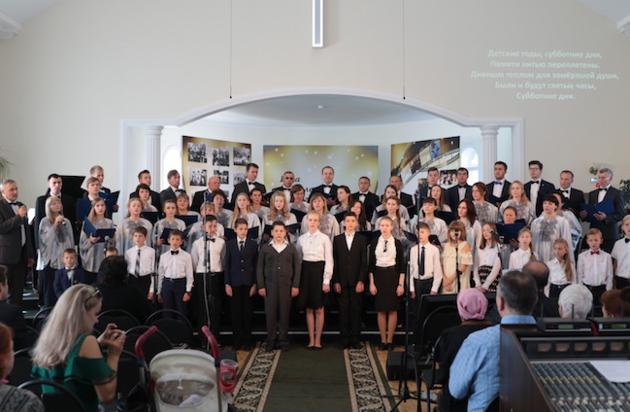 40-летний юбилей церкви