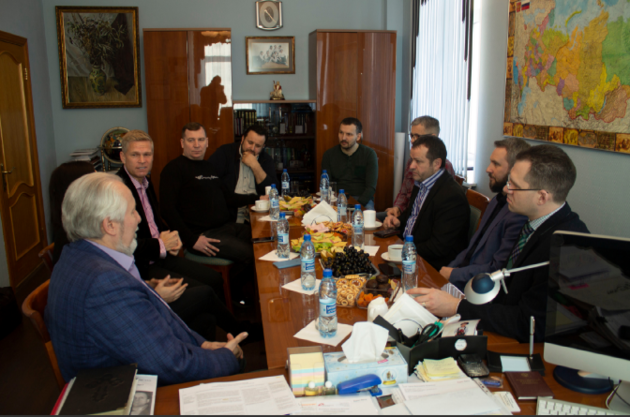 Встреча российских и французских протестантских лидеров