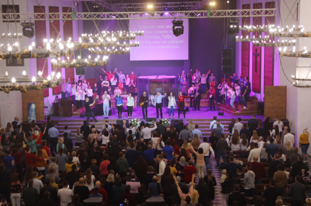 20-ти летие церкви в Томске
