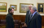 Председатель РС ЕХБ поблагодарил митрополита Иллариона