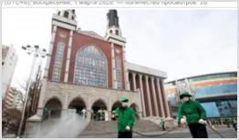 Коронавирус закрывает церкви
